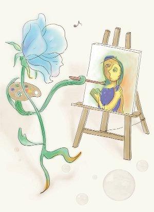絵を描く花_36
