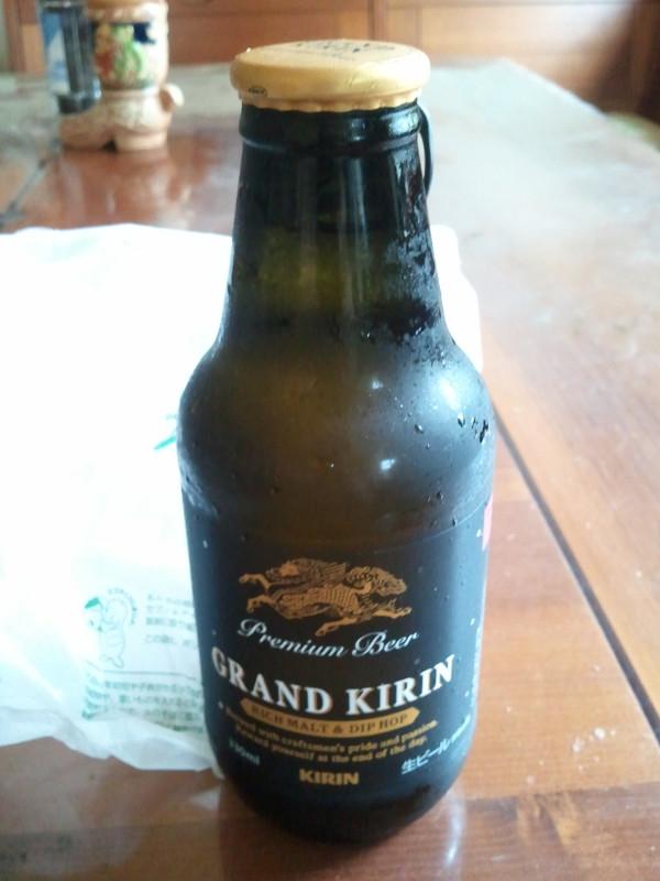 ビールもらいもの