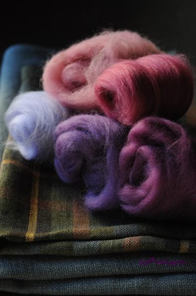 lavender wool balls