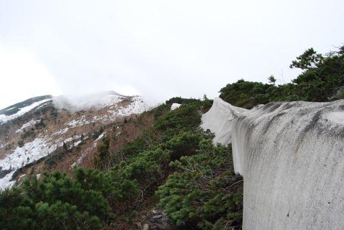 5稜線の残雪