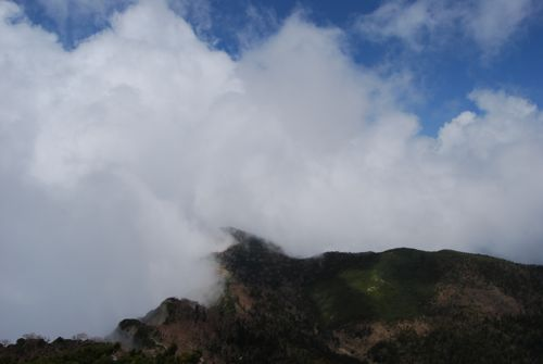 2雲の稜線