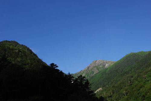 2広河原からの北岳