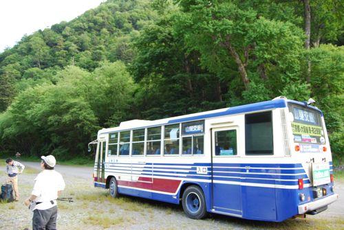 1奈良田バス