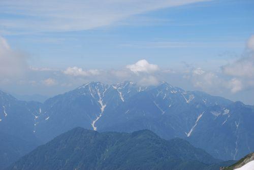 8白馬岳からの毛勝山