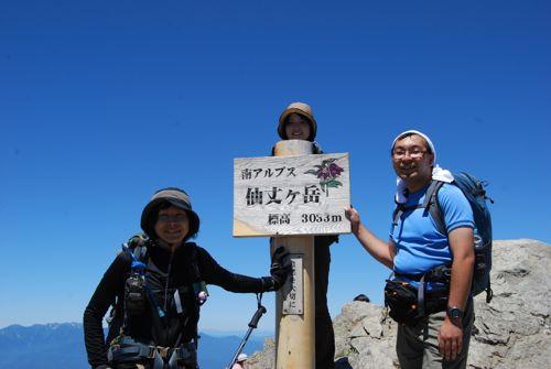 10仙丈ヶ岳ピークハント