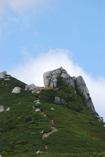 6バッタ岩