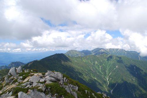 12木曽駒ヶ岳もバッチリ