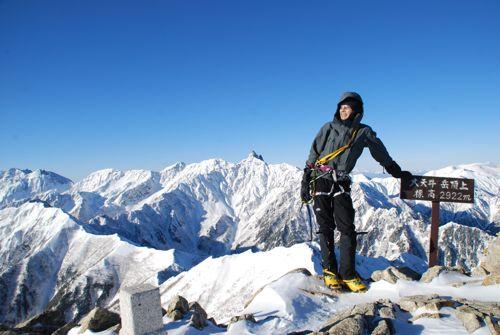 17そういえば初めての登頂