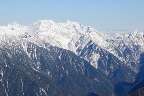 18立山と劔と黒部湖と