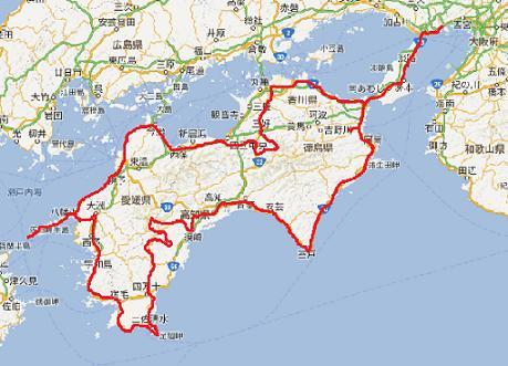 20130501_四国概略軌跡