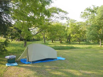 20130428四万十川キャンプ場1