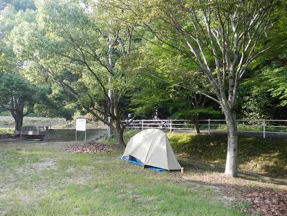 20130629野呂川ダムキャンプ場1
