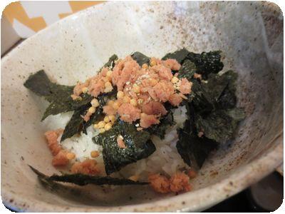 Aセット(鮭茶漬け)