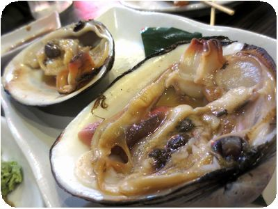 ホッキ貝(焼き)