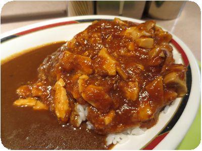 麻婆豆腐カレー