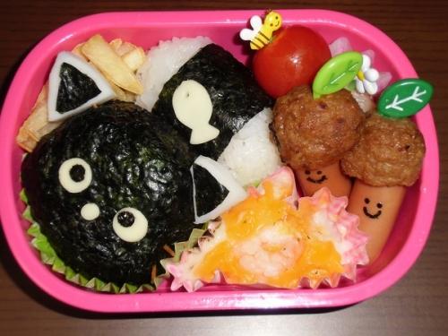 2014キャラ弁(ニャンコちゃん)
