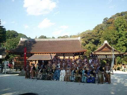 2012/10/21 上賀茂(笠懸神事)