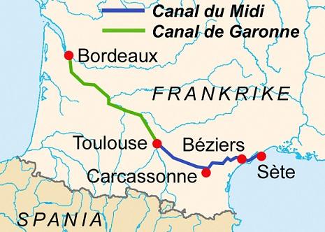CanalDuMidi_map運河