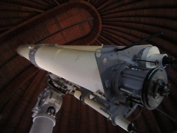 赤道儀室望遠鏡2_120325