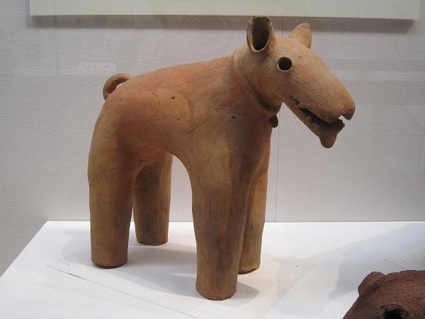 埴輪犬_120714