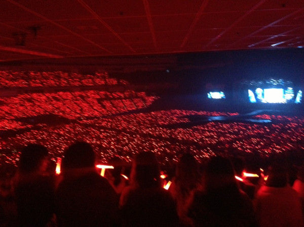 130605 Time Tour大阪京セラドーム1回目 RED OCEAN   5