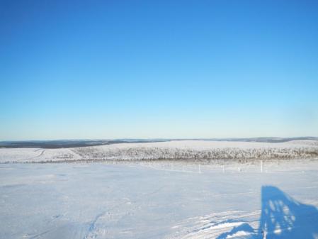あの向こうに北極が