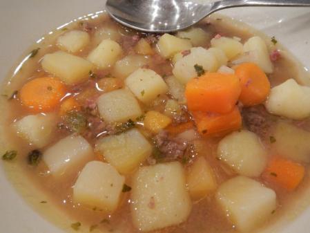 トナカイのスープ