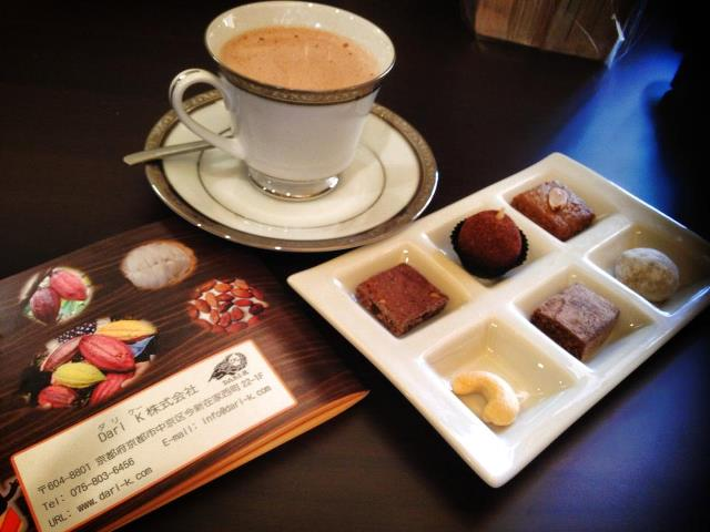 rumah cacao tea set