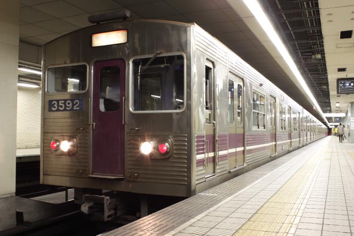 廃車回送される3092F(9/23)