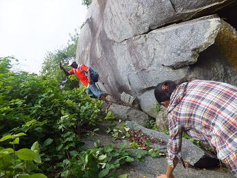 岩登りガイド