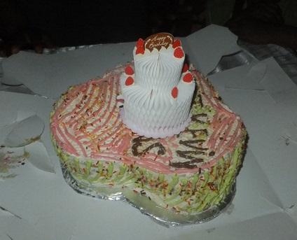 ケーキとケーキ