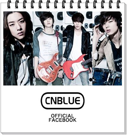 """CNBLUE"" OFFICIAL FACEBOOK"
