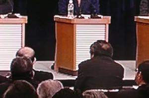 【日本記者クラブ主催・党首討論】毎日新聞・倉重篤郎の質問に安倍総理が「椿事件」で斬り返し 【NHK党首討論】