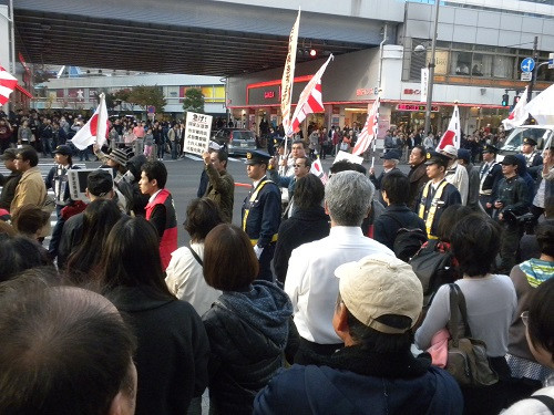 ヘイト規制歓迎!デモin銀座~日本人が日本国内で差別されるヘイトを取り締まれ!~20141123