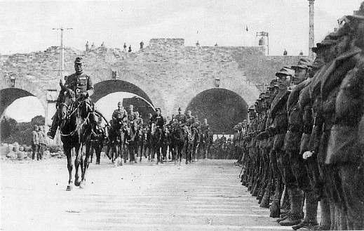 1937年12月17日 日本軍入城
