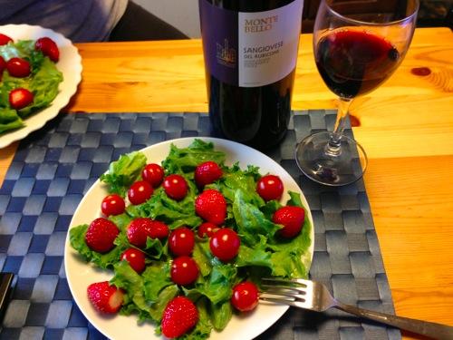 4お供は1、5Lのイタリアワイン