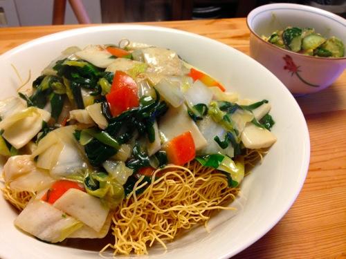 1伊府炸麺(イーフーザーメン)セット