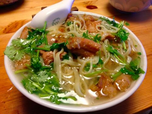 10台湾の屋台風私麺