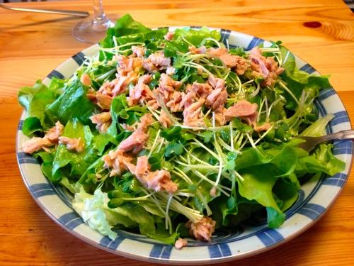 3グリーンサラダ