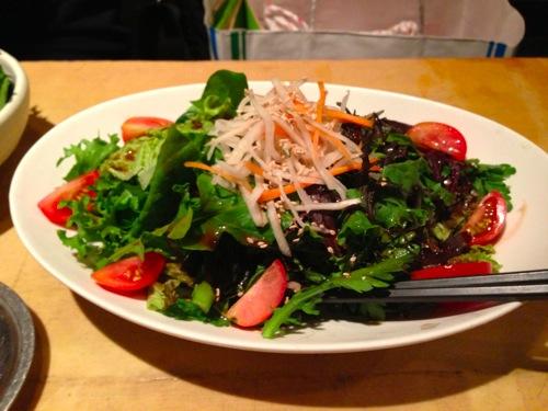 1川田農園野菜のサラダ