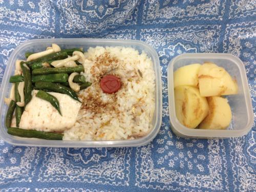 th_①鮎の炊き込みご飯のお弁当