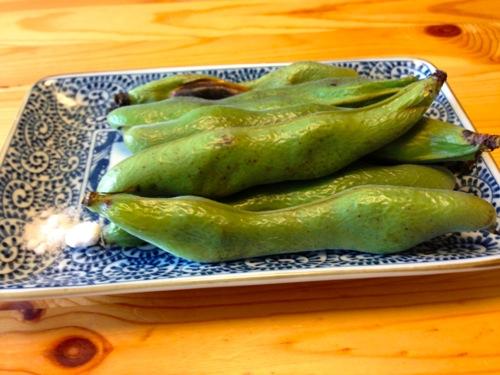 4焼き空豆