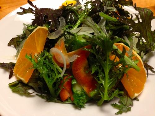 4サラダ山葵菜