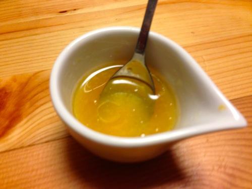 5清美オレンジのドレッシング