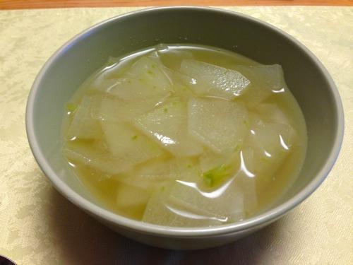 2冬瓜のスープ
