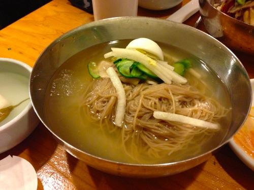 1本場の冷麺