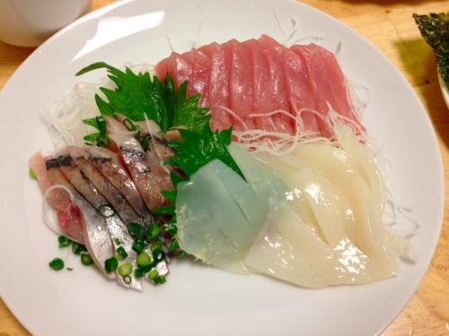 8鯵・イカ・キハダマグロ
