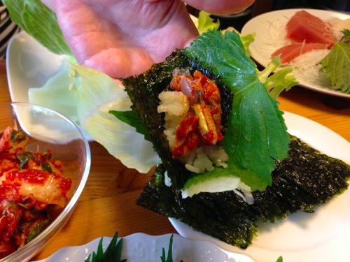 11巻き味噌キムチ