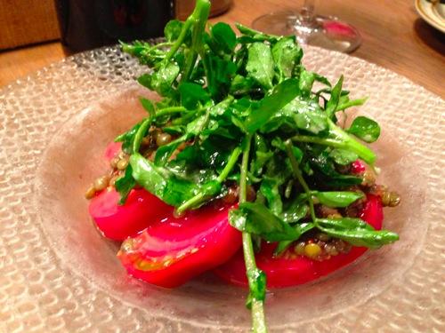 トマト&レンズ豆のサラダ
