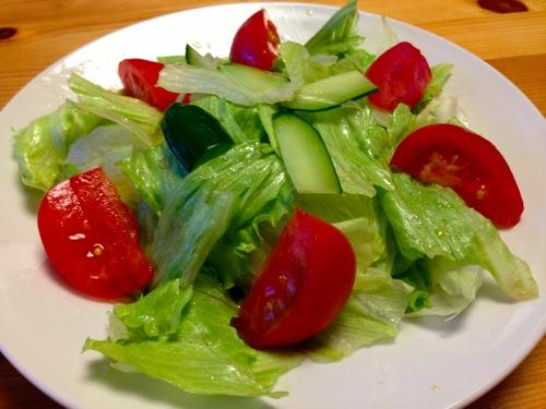 トマト&セロリサラダ